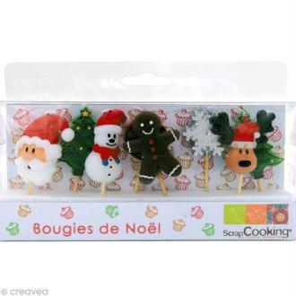 Bougies de Noël x 8