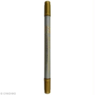 Feutre Zig double pointe Or 1 mm et 1,2 mm
