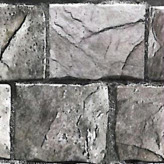 Adhésif décoratif pierre - Pierre grise 45 cm x 2 m