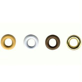 Oeillets mini 2,5 mm White Dream x 100