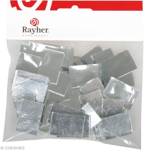 Miroir rectangulaire 3 x 2 cm - 50 pcs - Photo n°2