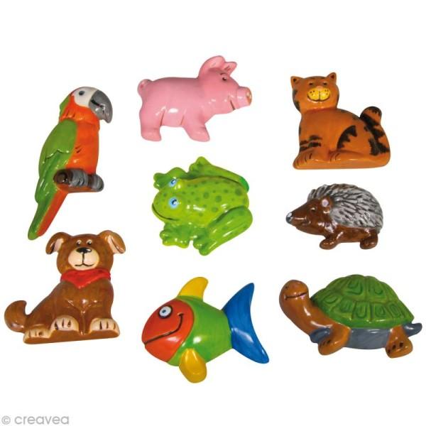 Moule plastique Parade des animaux x 8 - Photo n°1