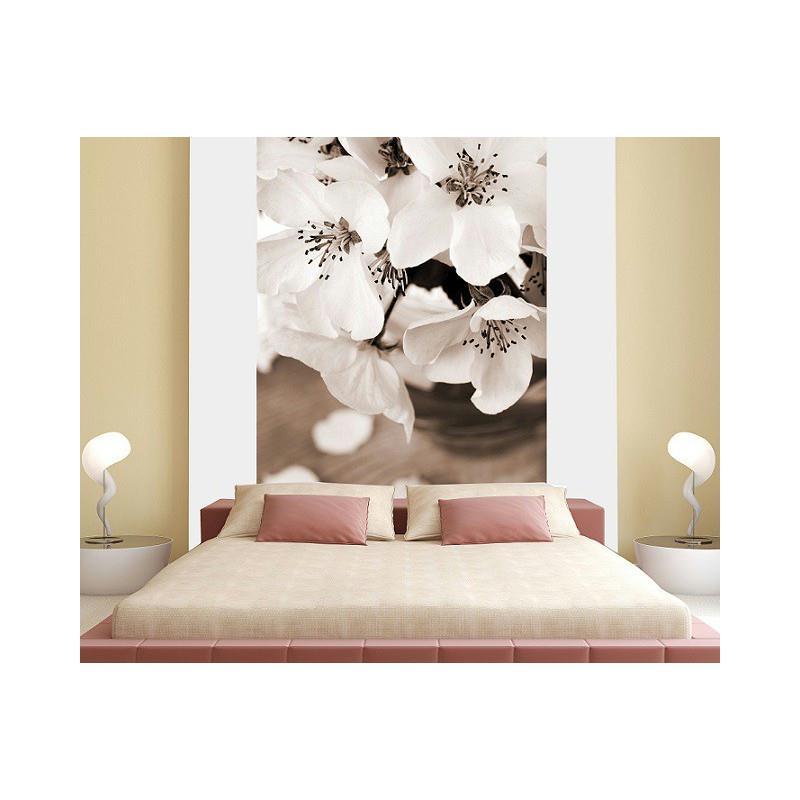 Papier peint fleur de pommier sens normal 260 x 180 cm - Papier peint intisse cuisine ...