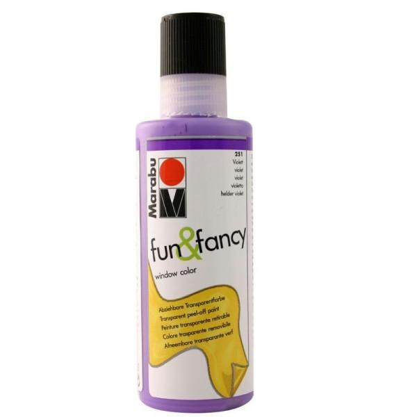 Window color Fun & Fancy violet 80 ml - Photo n°1