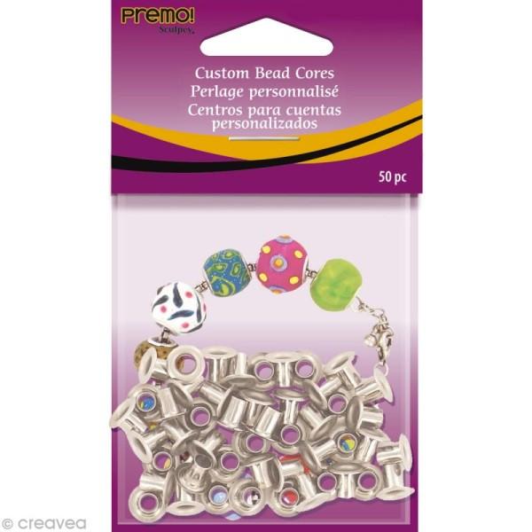 Oeillet 5 mm pour perle style Pandora x 50 - Photo n°1