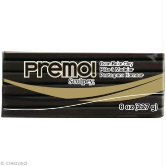 Pâte Sculpey Premo Noir - 226 g