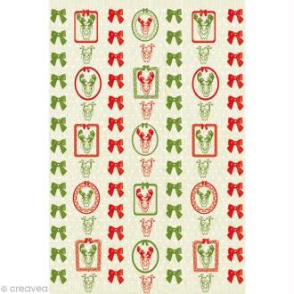 Décopatch Noël 608 - 1 feuille