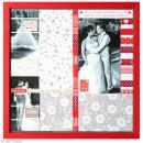 Cadre photo vitrine en bois - format scrap 31 x 31 cm - Photo n°2