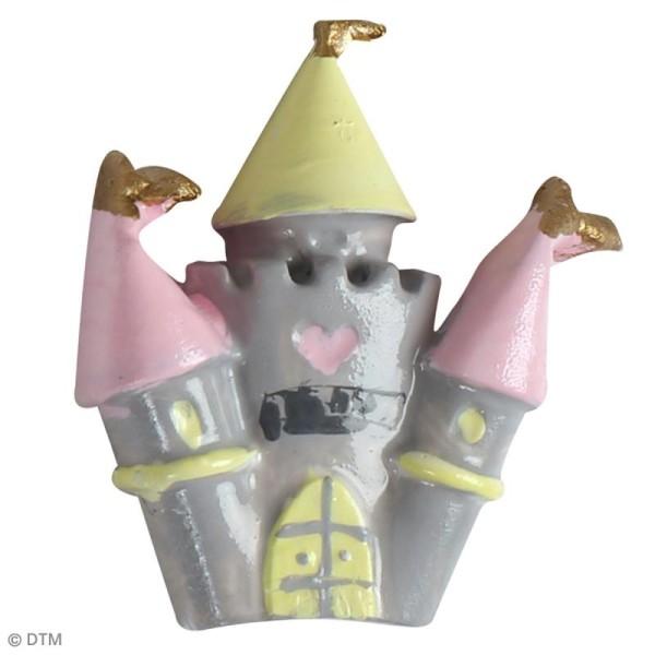 Mini moule en silicone - Licorne et princesse - 7 cm de diamètre - 5 formes - Photo n°5