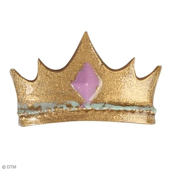 Mini moule en silicone - Licorne et princesse - 7 cm de diamètre - 5 formes - Photo n°6