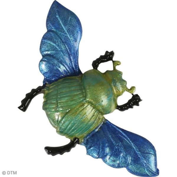Mini moule en silicone - Scarabées - 7 cm de diamètre - 3 formes - Photo n°3