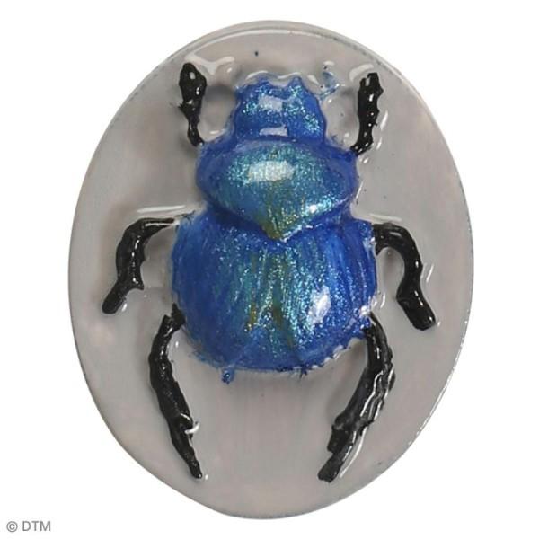 Mini moule en silicone - Scarabées - 7 cm de diamètre - 3 formes - Photo n°4