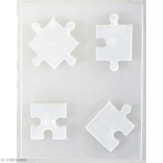 Moule thermoformé Puzzle - 4 pcs
