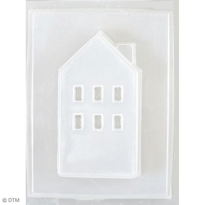 Moule thermoformé Immeuble - 4,3 x 7,5 cm - Photo n°2