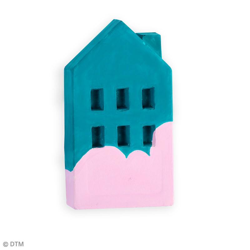 Moule thermoformé Immeuble - 4,3 x 7,5 cm - Photo n°3
