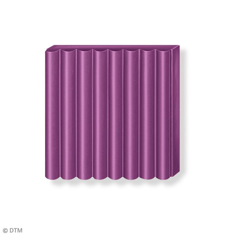 Pâte Fimo soft Violet royal 66 - 57 g - Photo n°4