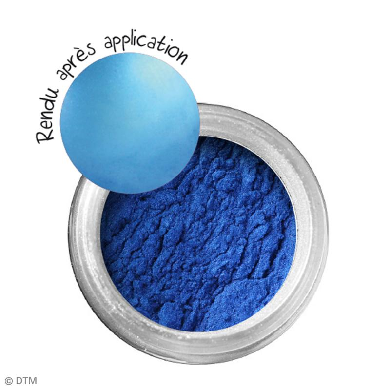 Poudre Effet Métallique - Bleu saphir - 6 g - Photo n°2