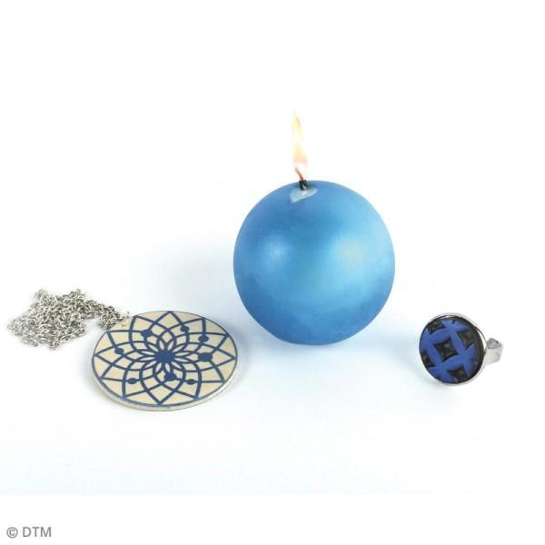 Poudre Effet Métallique - Bleu saphir - 6 g - Photo n°3