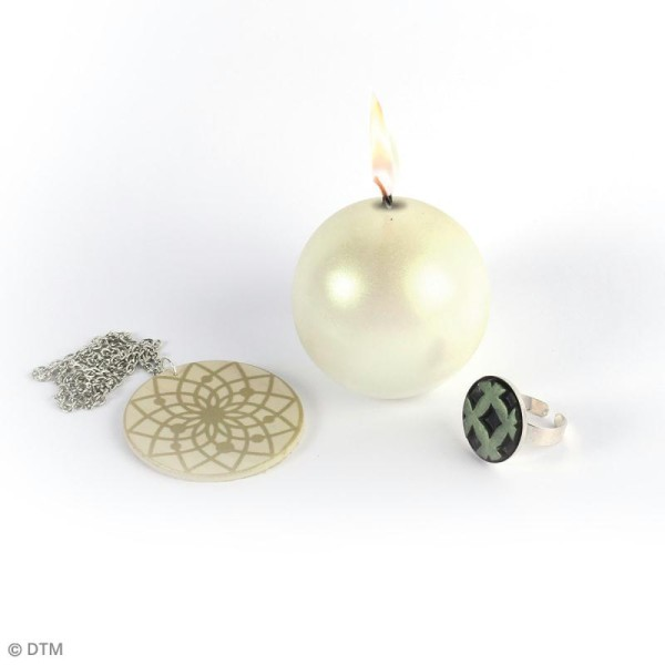 Poudre Effet Métallique - Jade - 6 g - Photo n°3