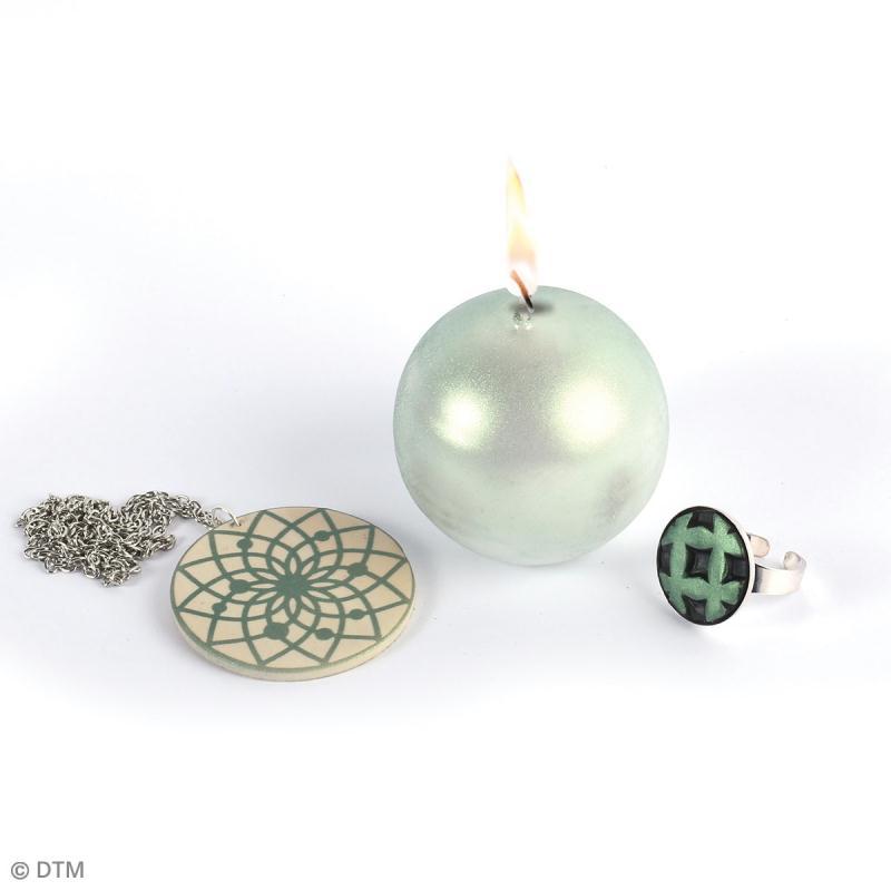 Poudre Effet Métallique - Vert émeraude - 6 g - Photo n°3