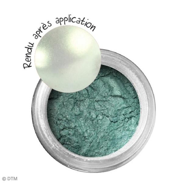 Poudre Effet Métallique - Vert émeraude - 6 g - Photo n°2