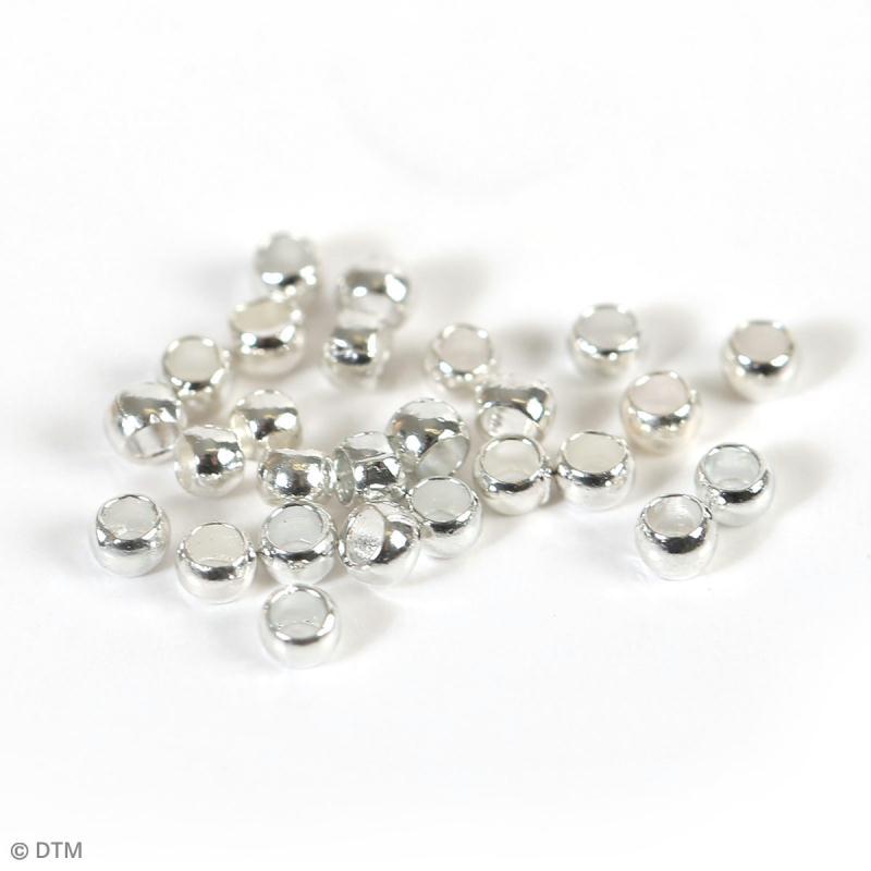 Kit apprêts bijoux argentés - Environ 400 pcs - Photo n°2