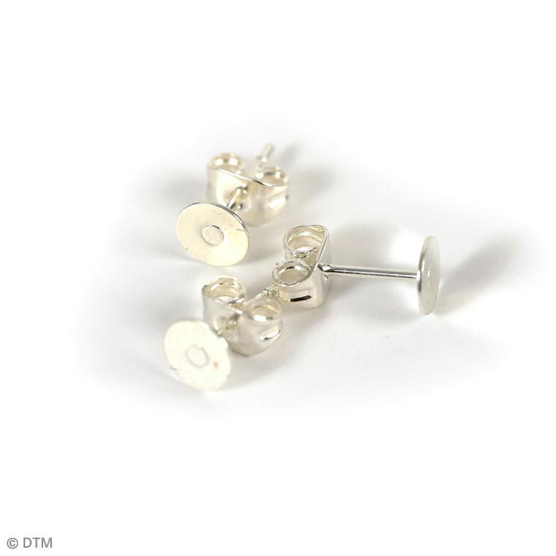 Kit apprêts bijoux argentés - Environ 400 pcs - Photo n°3