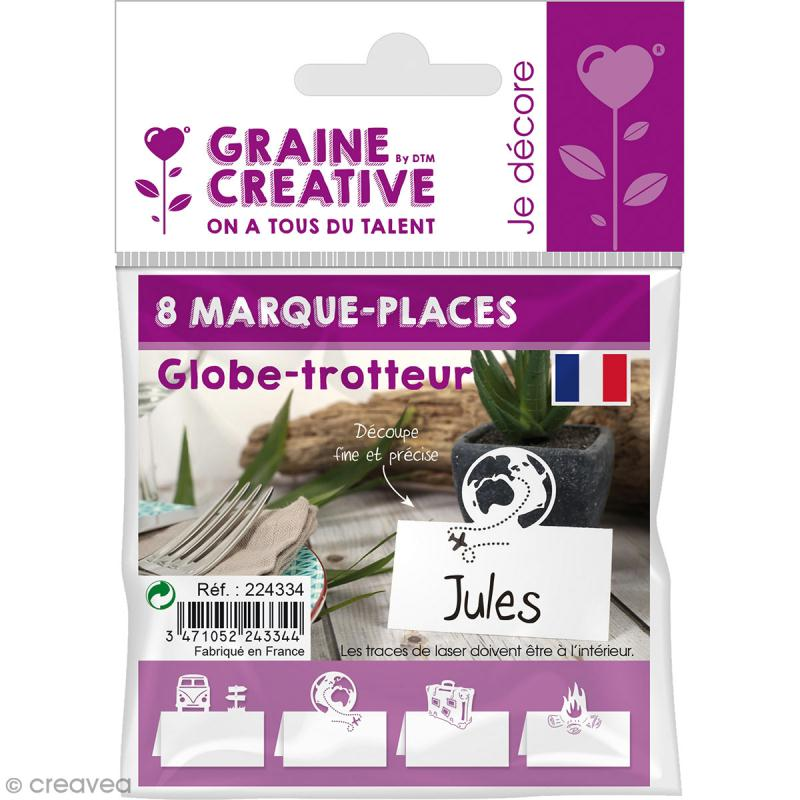8 Marque-places - Globe trotteur - Photo n°2
