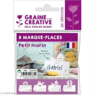 8 Marque-places - Petit marin