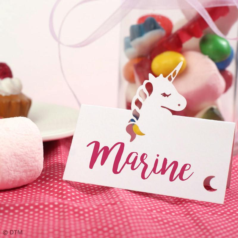 8 Marque-places - Licorne - Photo n°2