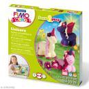 Kit Fimo Kids - Licorne - niveau moyen - Photo n°1