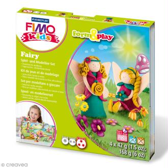 Kit Fimo Kids - Fée - niveau difficile