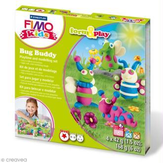 Kit Fimo Kids - Amis des insectes - niveau facile