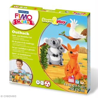 Kit Fimo Kids - Australie - niveau difficile
