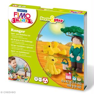 Kit Fimo Kids - Ranger - niveau difficile