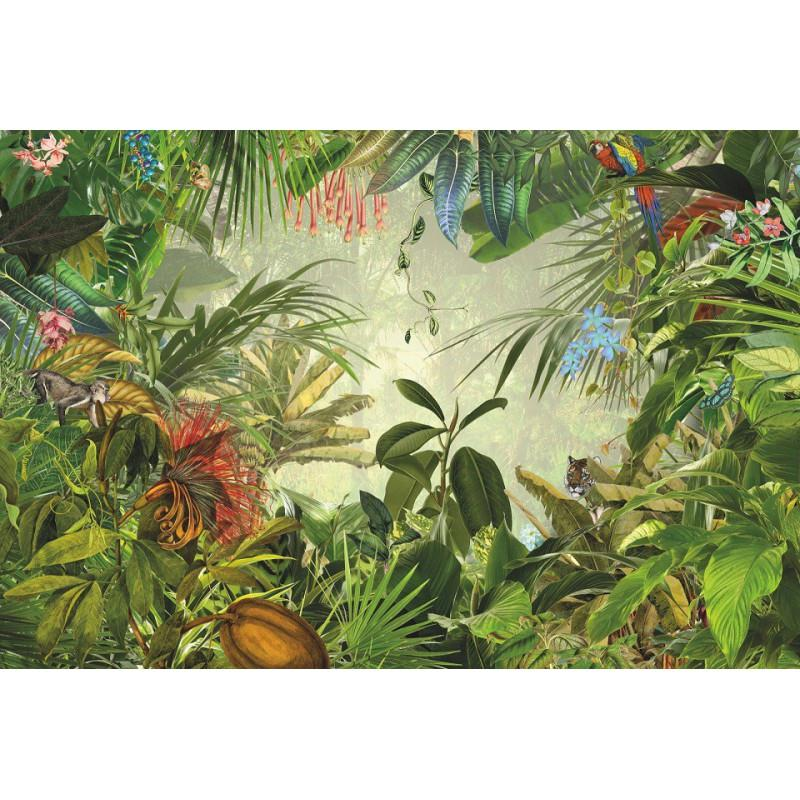 Papier peint dans la nature 248 x 368 cm papier - Papier peint intisse cuisine ...