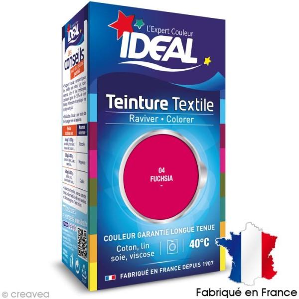 Teinture Tissu Idéal liquide fuchsia 04 mini - Photo n°1