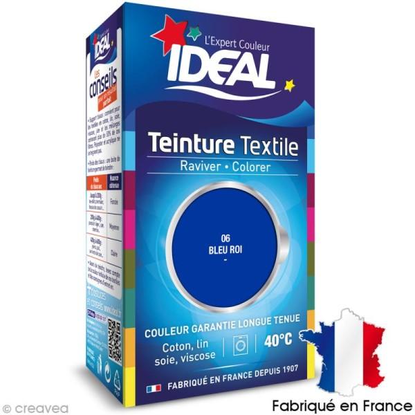Teinture Tissu Idéal liquide bleu roi 06 mini - Photo n°1