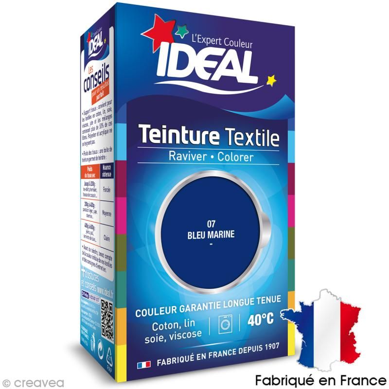teinture tissu id al liquide bleu marine 07 mini teinture coton creavea. Black Bedroom Furniture Sets. Home Design Ideas