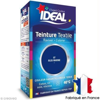 Teinture Tissu Idéal liquide bleu marine 07 mini