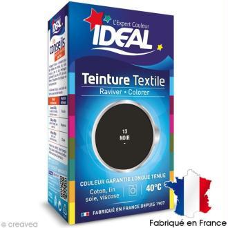 Teinture Tissu Idéal liquide noir 13 mini