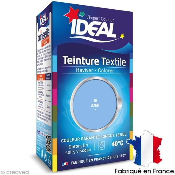 Teinture Tissu Idéal liquide bleu azur 16 mini - Photo n°1