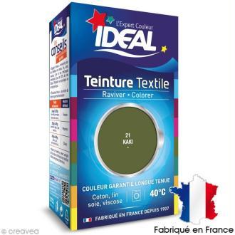 Teinture Tissu Idéal liquide vert kaki 21 mini