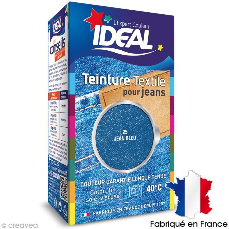 Teinture tissu id al liquide jeans 25 mini teinture Teinture tissu coton