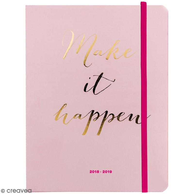 Petit agenda 2018 / 2019 - Make it happen - 17 mois - Photo n°1