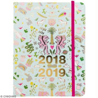 Petit agenda 2018 / 2019 - Wonderland - 17 mois