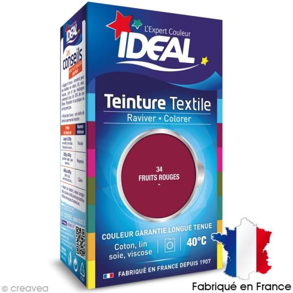 Teinture Tissu Idéal liquide fruits rouges 34 mini - Photo n°1