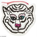 Porte monnaie fantaisie - Rico Design Wonderland - Tigre Blanc - 12 x 12 cm - Photo n°1