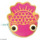 Porte monnaie fantaisie - Rico Design Wonderland - Poisson Fuchsia - 11 x 12 cm - Photo n°1