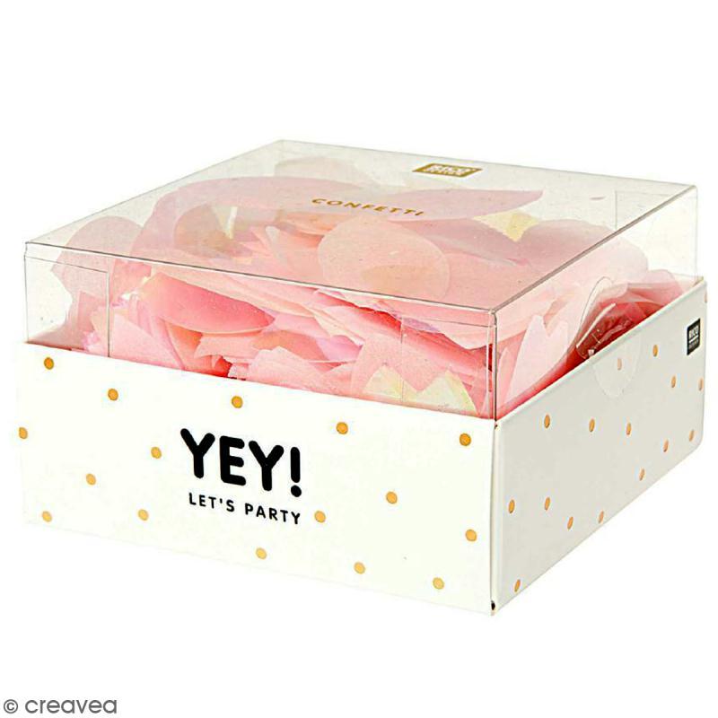 Confettis fleur de cerisier - Rose et nacré - Photo n°1